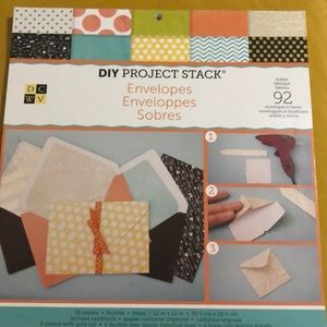 Lightly used DIY Project Stack Envelopes